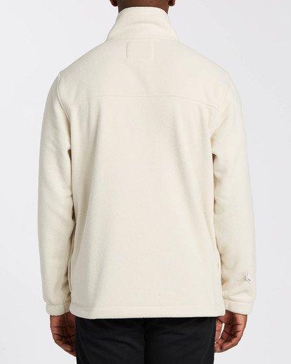 1 Adventure Division Collection Canyon Half - Half-Zip Fleece for Men Grey U1FL33BIF0 Billabong