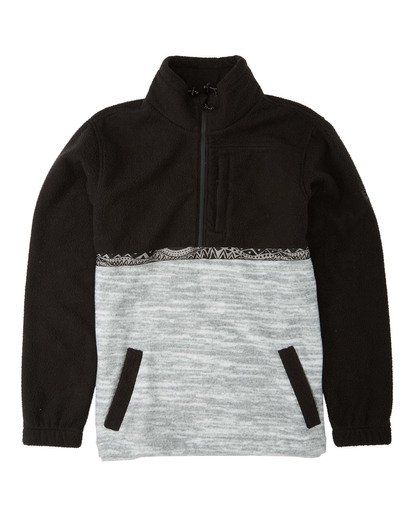 5 Adventure Division Collection Boundary Mock Neck - Polar de cuello alto para Hombre Negro U1FL35BIF0 Billabong