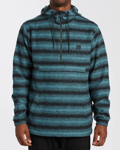 0 Adventure Division Collection Boundary Stripe - Sudadera con capucha para Hombre  U1FL39BIF0 Billabong