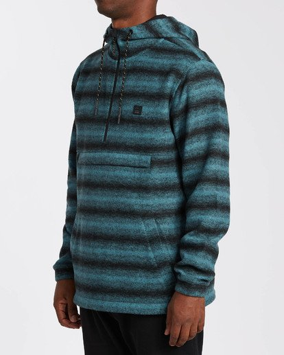 2 Adventure Division Collection Boundary Stripe - Sudadera con capucha para Hombre  U1FL39BIF0 Billabong