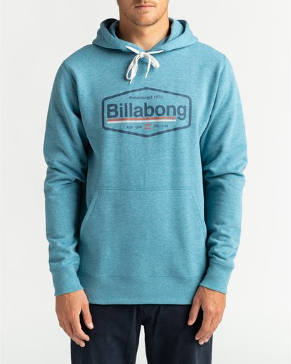 2 Montana - Hoodie for Men Blue U1HO01BIF0 Billabong