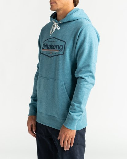 3 Montana - Hoodie for Men Blue U1HO01BIF0 Billabong