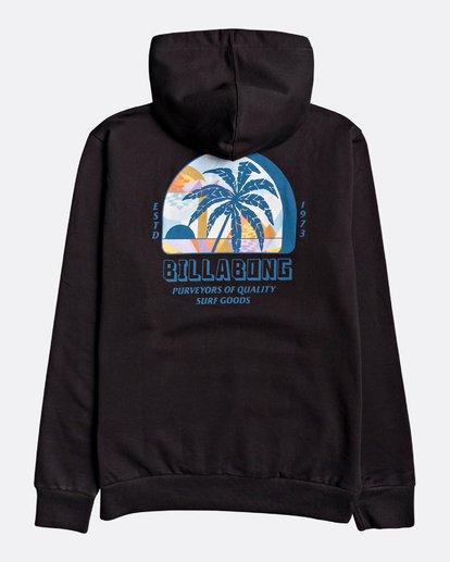 1 Palmas - Sudadera con capucha para Hombre Negro U1HO03BIF0 Billabong