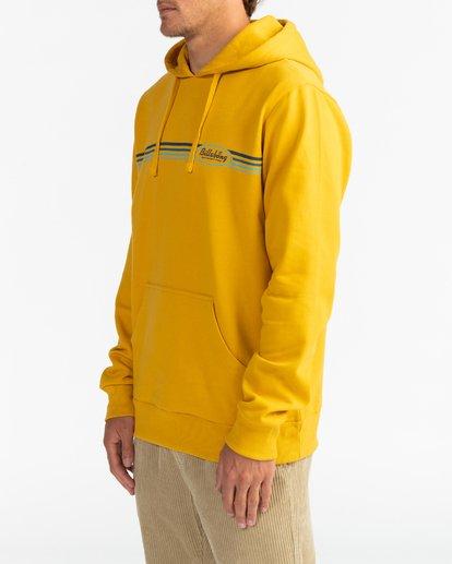 3 Cruiser Stripe - Sudadera con capucha para Hombre Amarillo U1HO04BIF0 Billabong