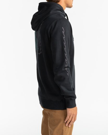 4 Call808 - Sudadera con capucha para Hombre Negro U1HO07BIF0 Billabong