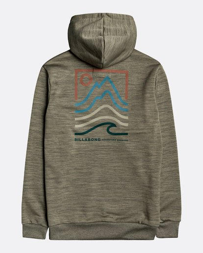 1 Adventure Division Collection Peak - Sudadera con capucha para Hombre  U1HO08BIF0 Billabong