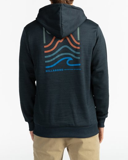 5 Adventure Division Collection Peak - Sudadera con capucha para Hombre Negro U1HO08BIF0 Billabong
