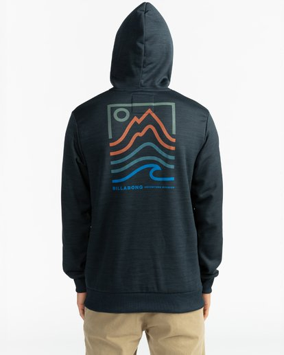 6 Adventure Division Collection Peak - Sudadera con capucha para Hombre Negro U1HO08BIF0 Billabong