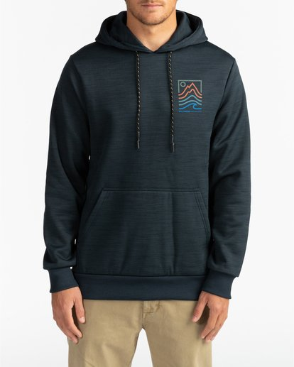 2 Adventure Division Collection Peak - Sudadera con capucha para Hombre Negro U1HO08BIF0 Billabong