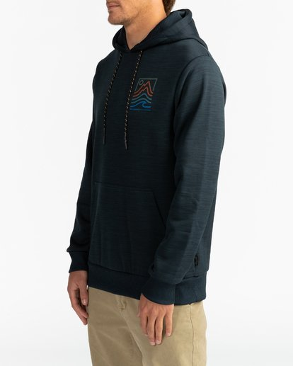 3 Adventure Division Collection Peak - Sudadera con capucha para Hombre Negro U1HO08BIF0 Billabong