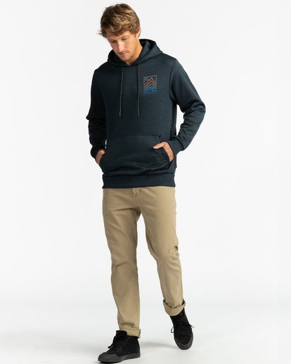 4 Adventure Division Collection Peak - Sudadera con capucha para Hombre Negro U1HO08BIF0 Billabong