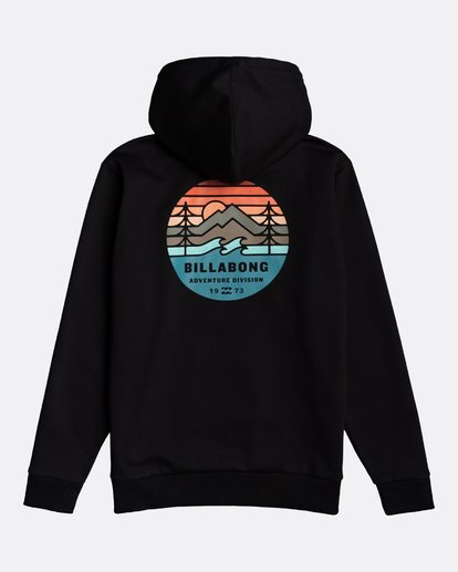 1 Adventure Division Collection Twin Pines - Sudadera con capucha para Hombre Negro U1HO09BIF0 Billabong