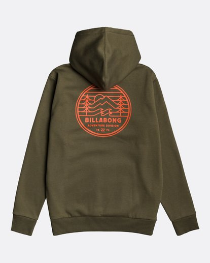 1 Adventure Division Collection Twin Pines - Sudadera con capucha para Hombre  U1HO09BIF0 Billabong