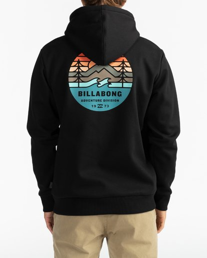 5 Adventure Division Collection Twin Pines - Sudadera con capucha para Hombre Negro U1HO09BIF0 Billabong