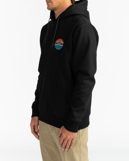 3 Adventure Division Collection Twin Pines - Sudadera con capucha para Hombre Negro U1HO09BIF0 Billabong