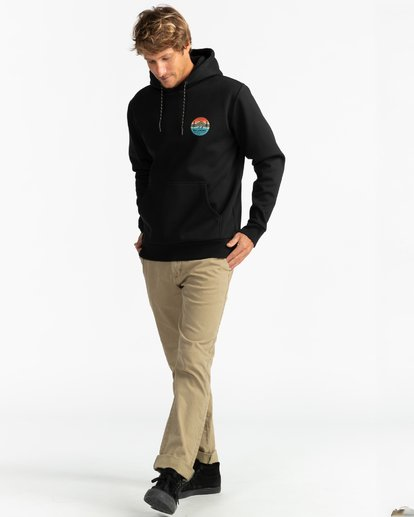 4 Adventure Division Collection Twin Pines - Sudadera con capucha para Hombre Negro U1HO09BIF0 Billabong