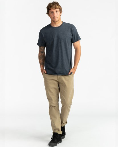 4 All Day - Camiseta para Hombre Azul U1JE02BIF0 Billabong