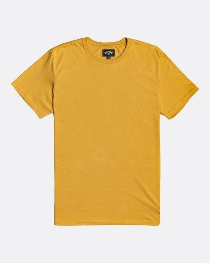 0 All Day - T-Shirt für Männer Gelb U1JE03BIF0 Billabong