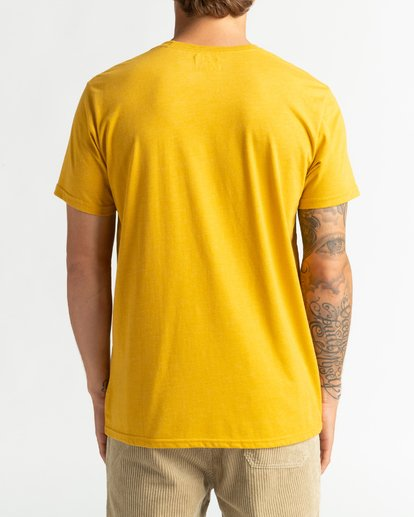 5 All Day - T-Shirt für Männer Gelb U1JE03BIF0 Billabong