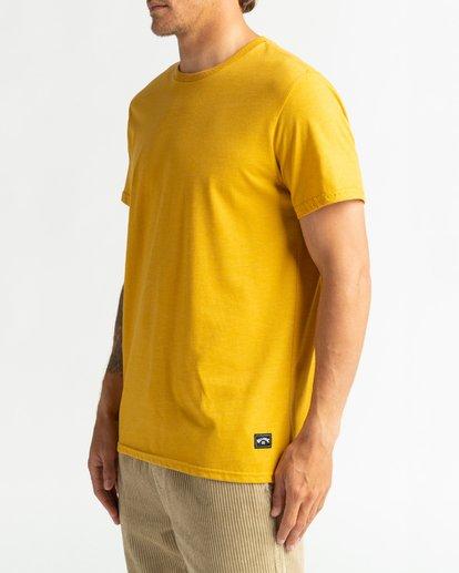 3 All Day - T-Shirt für Männer Gelb U1JE03BIF0 Billabong