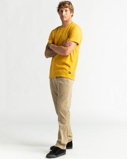 4 All Day - T-Shirt für Männer Gelb U1JE03BIF0 Billabong
