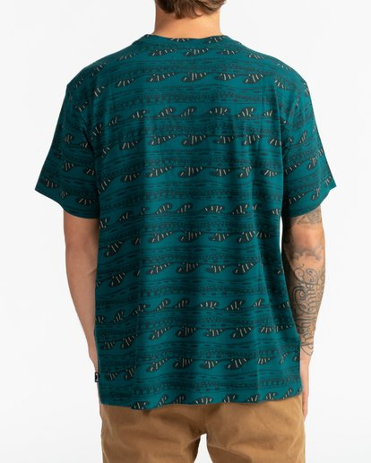 3 Wave Wash Sundays - Camiseta para Hombre  U1JE07BIF0 Billabong