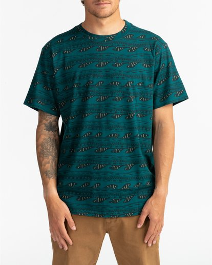 0 Wave Wash Sundays - Camiseta para Hombre  U1JE07BIF0 Billabong