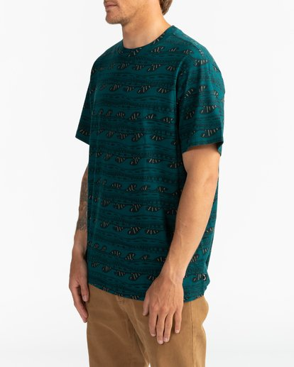 1 Wave Wash Sundays - Camiseta para Hombre  U1JE07BIF0 Billabong