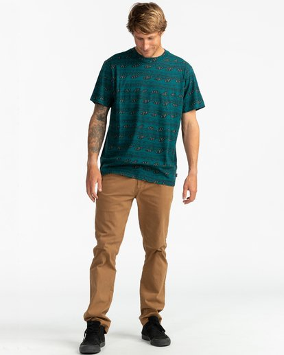 2 Wave Wash Sundays - Camiseta para Hombre  U1JE07BIF0 Billabong
