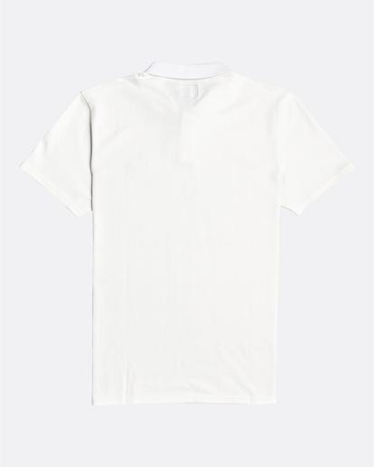 4 Skooled Polo Pique - T-shirt pour Homme Blanc U1JE09BIF0 Billabong