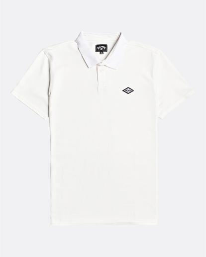 3 Skooled Polo Pique - T-shirt pour Homme Blanc U1JE09BIF0 Billabong