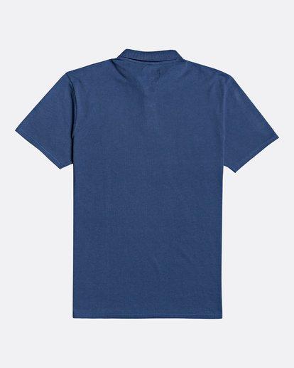 4 Skooled Polo Pique - T-Shirt for Men Blue U1JE09BIF0 Billabong