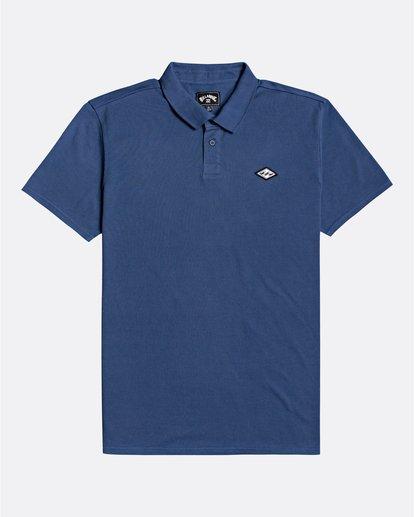 3 Skooled Polo Pique - T-Shirt for Men Blue U1JE09BIF0 Billabong