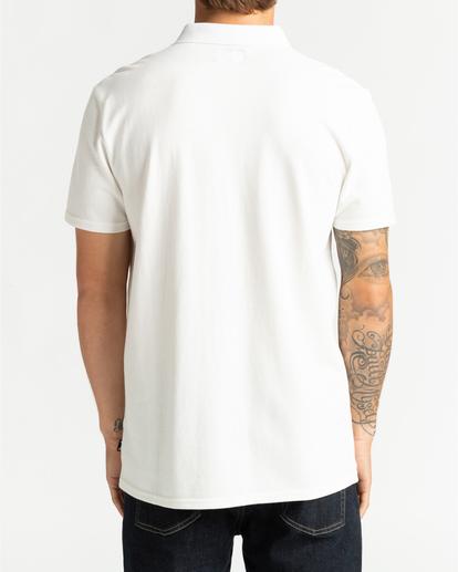 1 Skooled Polo Pique - T-shirt pour Homme Blanc U1JE09BIF0 Billabong