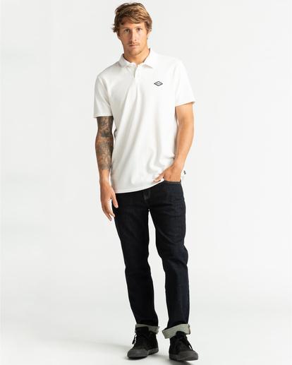 4 Skooled Polo Pique - Camiseta para Hombre Blanco U1JE09BIF0 Billabong