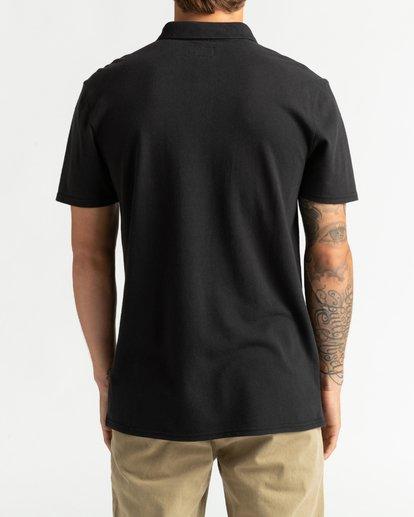 1 Skooled Polo Pique - T-Shirt for Men Black U1JE09BIF0 Billabong