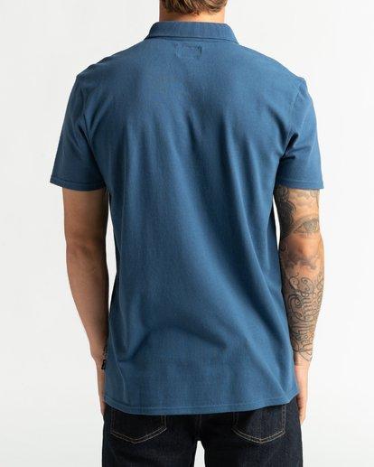 1 Skooled Polo Pique - T-Shirt for Men Blue U1JE09BIF0 Billabong