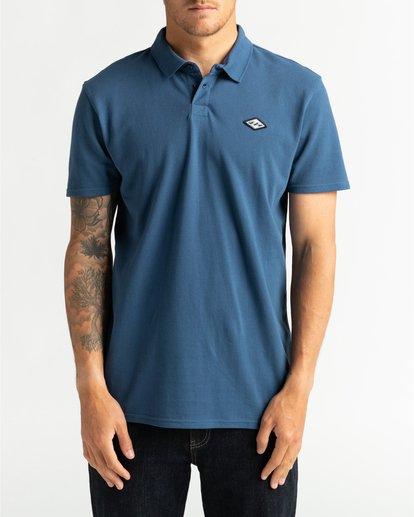 0 Skooled Polo Pique - T-Shirt for Men Blue U1JE09BIF0 Billabong