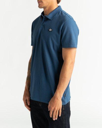2 Skooled Polo Pique - T-Shirt for Men Blue U1JE09BIF0 Billabong