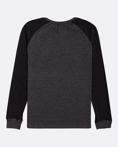 1 Balance Raglan - T-shirt manches longues pour Homme Noir U1JE10BIF0 Billabong