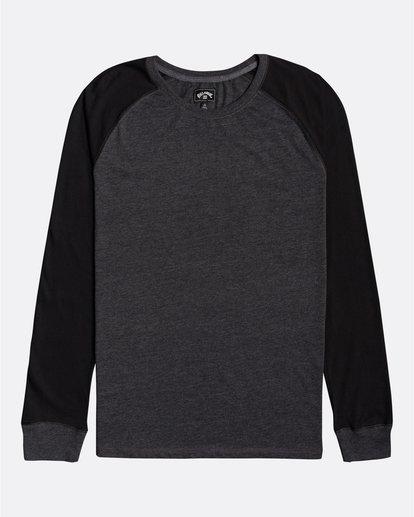 0 Balance Raglan - T-shirt manches longues pour Homme Noir U1JE10BIF0 Billabong