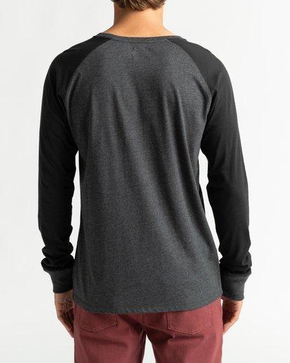5 Balance Raglan - T-shirt manches longues pour Homme Noir U1JE10BIF0 Billabong