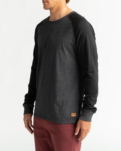 3 Balance Raglan - T-shirt manches longues pour Homme Noir U1JE10BIF0 Billabong