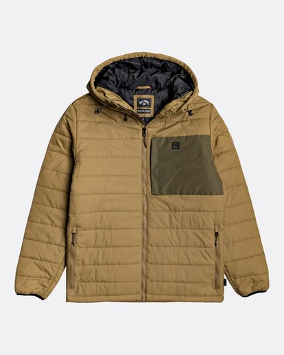 0 Adventure Division Collection Journey - Chaqueta Acolchada para Hombre Beige U1JK30BIF0 Billabong