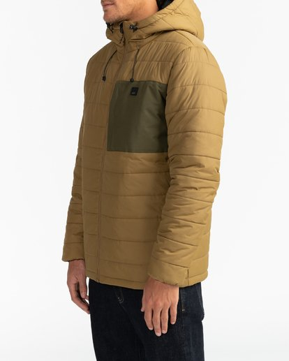 4 Adventure Division Collection Journey - Chaqueta Acolchada para Hombre Beige U1JK30BIF0 Billabong