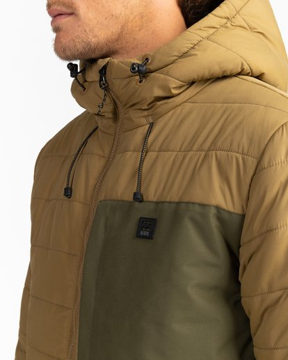5 Adventure Division Collection Journey - Chaqueta Acolchada para Hombre Beige U1JK30BIF0 Billabong