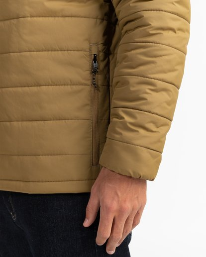 6 Adventure Division Collection Journey - Steppjacke für Männer Beige U1JK30BIF0 Billabong