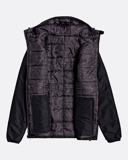 1 Adventure Division Collection Transport - Veste réversible pour Homme Noir U1JK31BIF0 Billabong