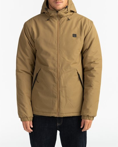 3 Adventure Division Collection Transport - Wendbare Jacke für Männer Beige U1JK31BIF0 Billabong