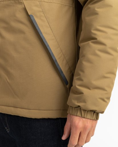 6 Adventure Division Collection Transport - Reversible Jacket for Men Beige U1JK31BIF0 Billabong